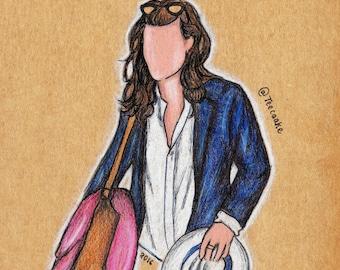 10.Harry Styles Postcard