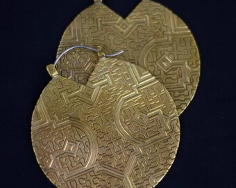 Aya Earrings in Gold