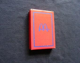 McDonald's Deck of Cards, McDonald's, Vintage McDonald's,Playing Cards, Deck of Cards
