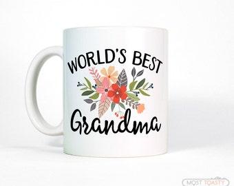 Gift for Grandmother Gift | Grandma Gift Personalized | New Grandma Mug | Coffee Mug | Birthday Gift for Grandma | Grandma Birthday Gift