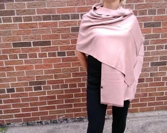 Natural scarf / Elegant / present/ gift / wool / cotton / silk /