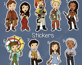 Firefly Stickers