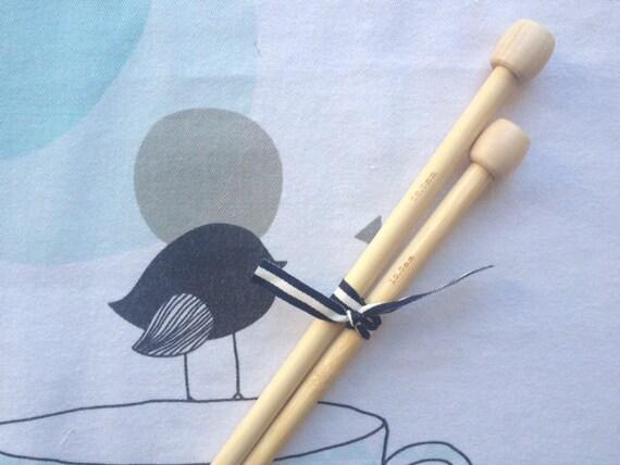 Knitting bamboo - number 10 needles