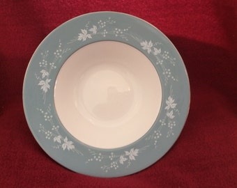 Royal Doulton Reflection Soup Bowls Rimmed 8""