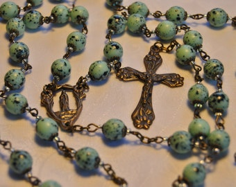 Mary Rose in the Grotto Rosary