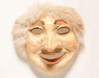 Pappmaché Buratino Maske