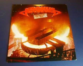 On Sale! Krokus Hardware Vinyl Record LP OL 1508 Ariola Records 1981