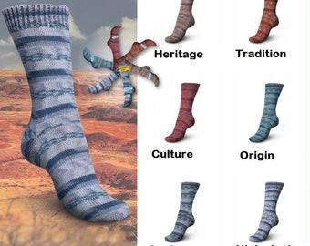 NEW Regia sock yarn, newest Native collection (limited edition) knitting yarn, sock yarn