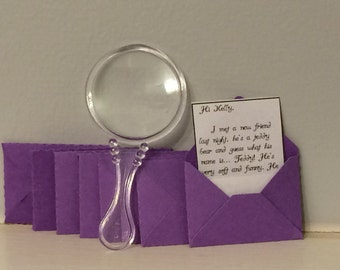 Personalized fairy letters