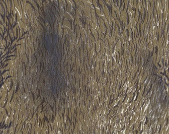 Nani Iro Kokka Japanese Fabric Wild elegant wind - animal hair - 50cm
