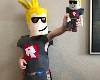 Custom Roblox Mini plush toy