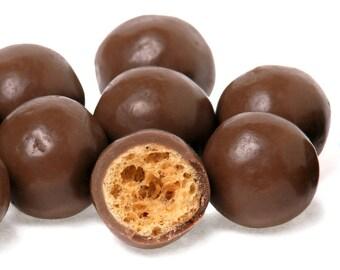 Chocolate Malt Balls, Malted Milk Balls, Malt Candy, Crunchy Chocolate Candy Balls, Malted Milk Ball Candy, Candy Coated Malt Ball, Gourmet