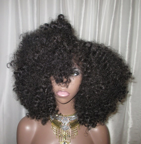 Essence Wigs 'Amina' Bantu Knot Out Unit Lace Front Wig African Queens Collection