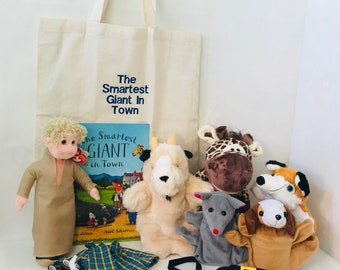 The Smartest Giant In Town Story Bag / Story Sack