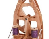Ashford Single Treadle Compact Joy2 Spinning Wheel W Carry Bag Sliding Hook Flyer