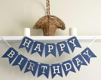 Boy First Birthday Banner - Boy 1st Birthday Decoration - First Birthday Banner - Boy 1st Birthday Decor - 1st Birthday Party Banner Boy