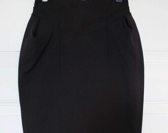 BLACK TULIP SKIRT · Pencil skirt