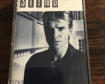 Sting The Dream Of Blue Turtles Cassette