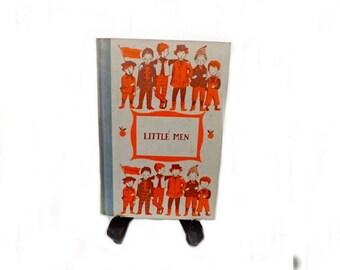 1955 Antique Book, Little Men, Junior Deluxe Edition, Classic Literature, Literary Classic, Childrens Book, Story Book, Literary Fiction
