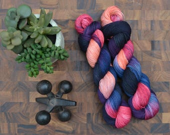 Afterglow - Sock Weight Hand Dyed Yarn