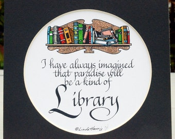 Paradise Is A Library