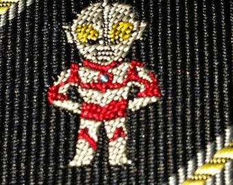 Vintage 80's Martian Print Necktie