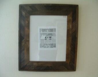 Rustic Barnwood 16 X 20 Fancy BarnWood Picture Frame, Very Rustic, Brown / Wall Art