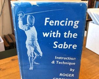 Fencing with a Sabre, Circa 1960