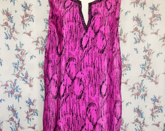 ladies pink tunic