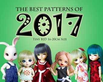 Best of 2017 Tiny BJD Fashions Value Pack! clothes pattern for Tiny BJD sized dolls: Pukifee Lati Yellow, Tiny Delf & Similar