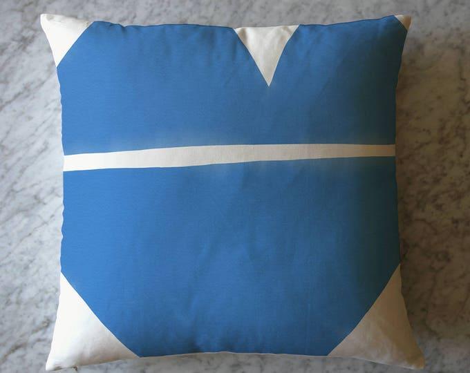 Indigo Shape Pillow