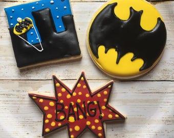 Pop Batman cookie set