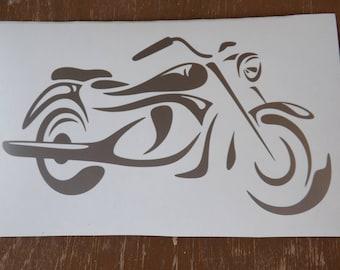 Motorcycle vinyl decal, Bike decal-window-car-yeti-truck-car-laptop-decals-vinyl decals-gifts for men-motorcycle decals-biker decals