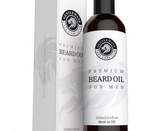 Beard Oil Conditioning Oil Subtle Sweet Scent NourishesThickens Hair Shine Non-Greasy Residue Kissable X Large Bottle 100ml stop beard itch