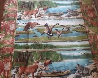 Animal lap quilt