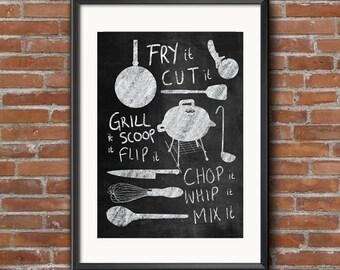 Kitchen art kitchen print decoration