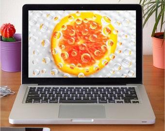 Orange - Desktop Wallpaper - Screensaver - Mobile Phone - Original - Photography