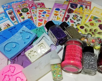 Nitro Bijoux Mystery BAG - Molds, stickers and glitter