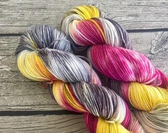 Nobody's Perfect - Hand Dyed Superwash Merino Yarn - Sport Weight Yarn - Hand Dyed Yarn - Hand Dyed Sport Yarn