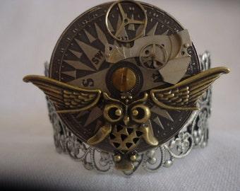 Steam punk Cuffs & Bracelets