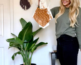 Macrame Ring wall hangings