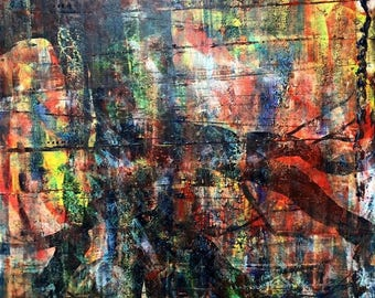 Underwood, Large Abstract Original Painting, Oil Painting, Modern, Contemporary on Canvas