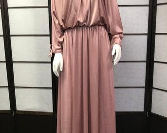 70s Vintage Amazing Maxi Dress
