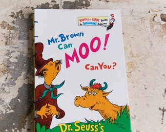 1970 MOO Vintage Book Journal