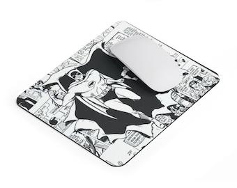 Batmania Batman And Robin Comic Mousepad