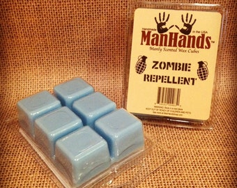 Zombie Repellent Scented Wax Cubes