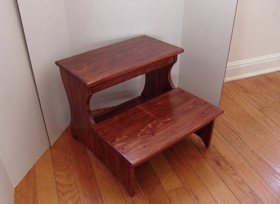 16 5 Tall Handcrafted Jumbo Step Stool Pet Steps Solid
