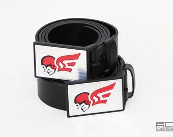 Golf Belt & Buckle - Aluminum Modern Display Case
