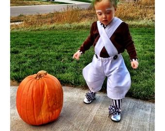 Oompa Loompa Custom Costume for Kids