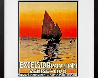 Italy Poster Venice Wall Art Travel Print (TR59)